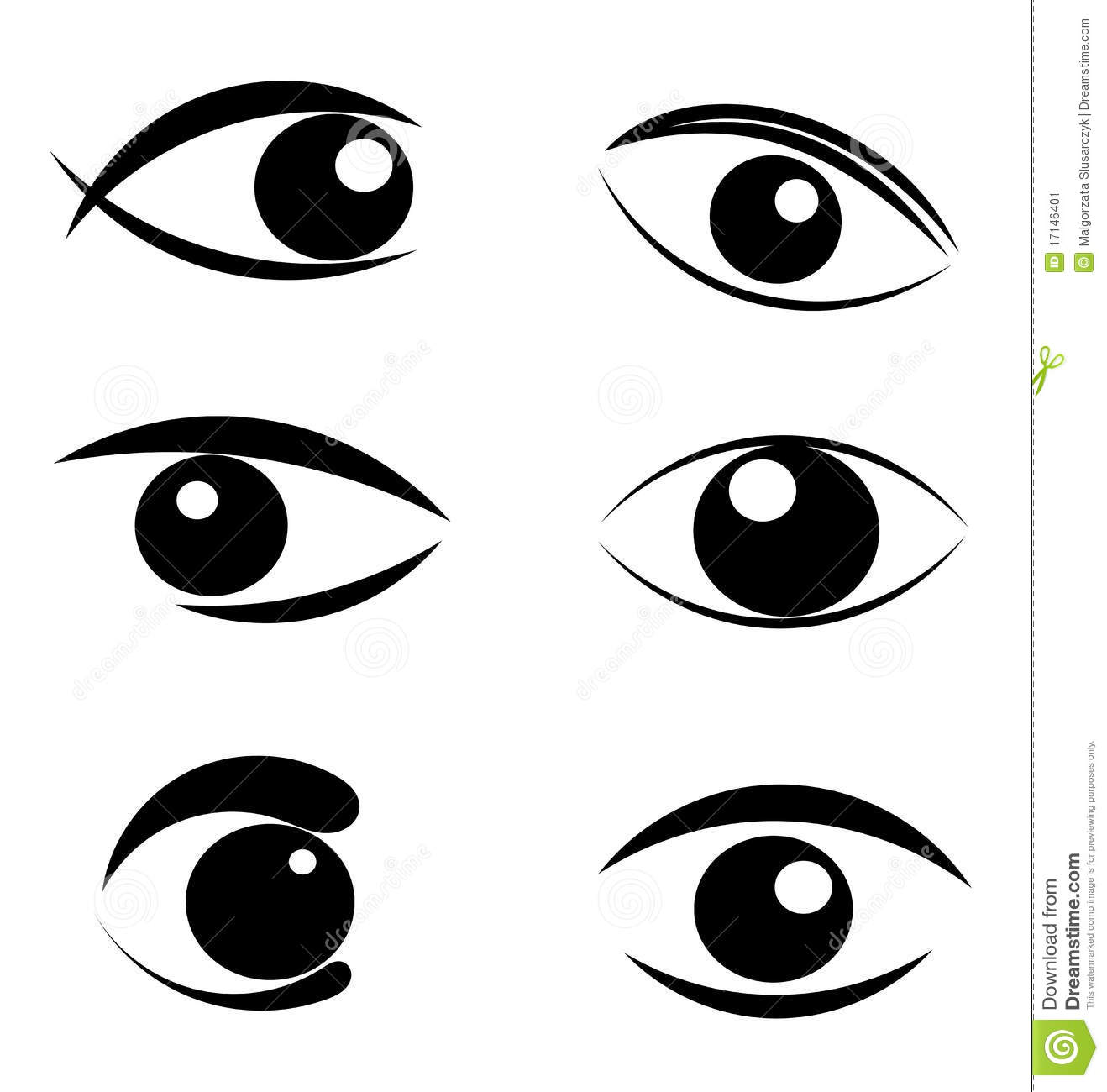 More Similar Stock Images Of Set Of Eyes Symbols #tpNS40 ...