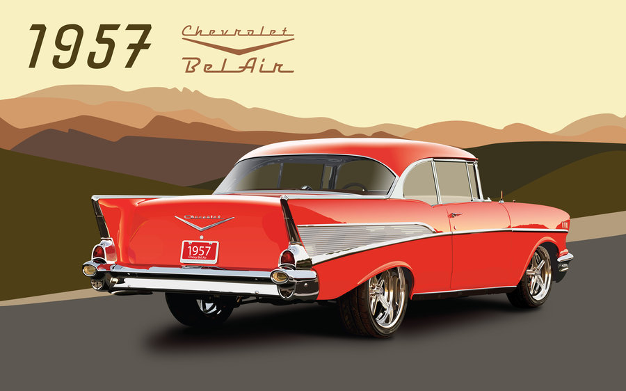 57 Chevy Clipart - Clipart Suggest