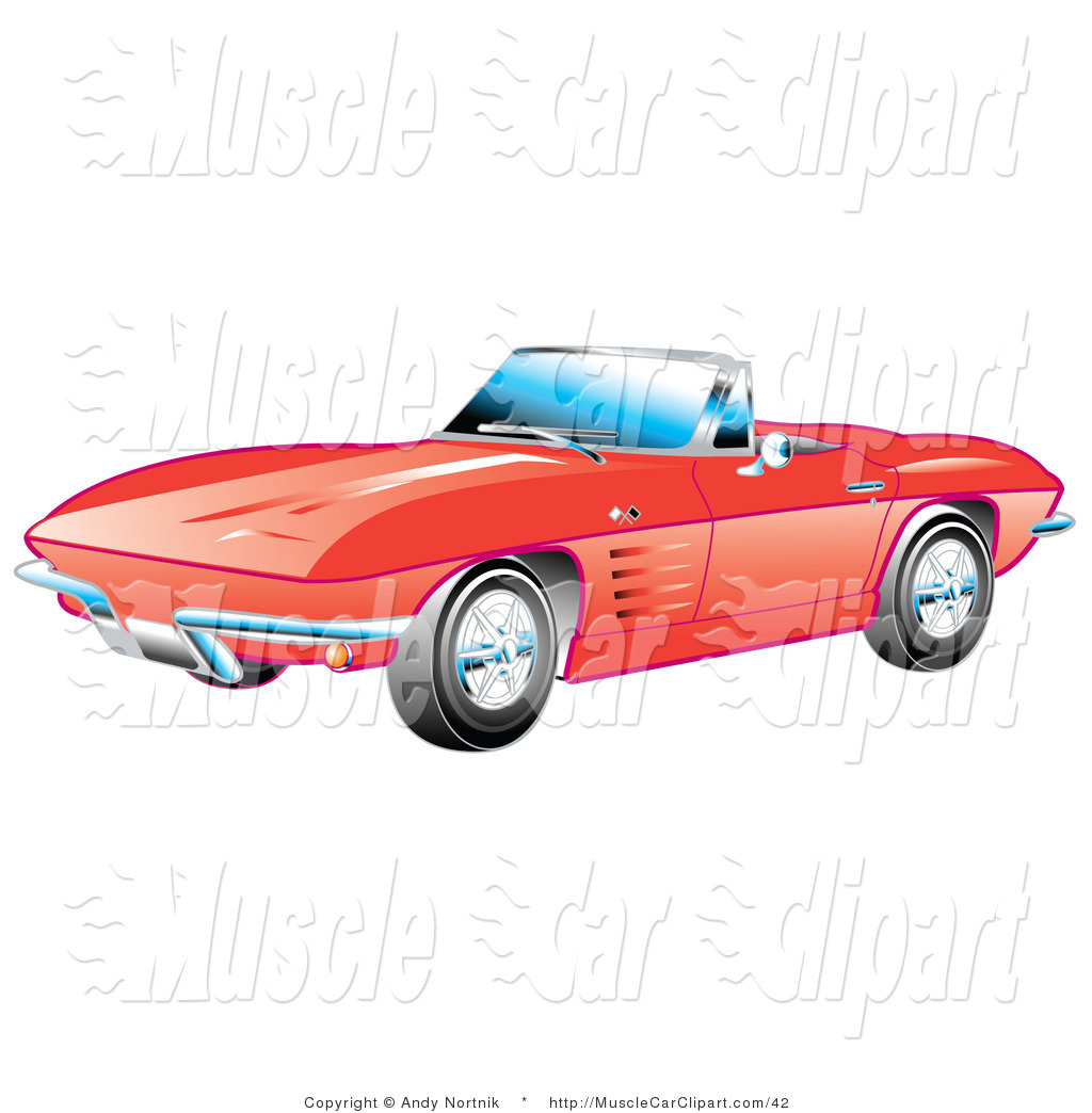 57 Chevy Clipart Muscle Car Clipart   New Stock