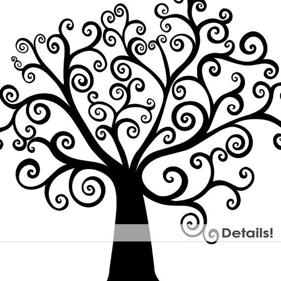 Black And White Tree With Roots Clipart   Clipart Panda   Free Clipart