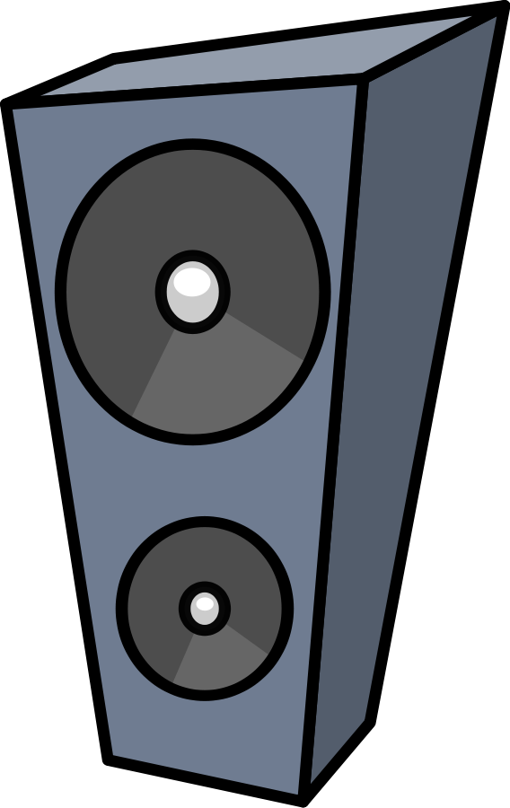 Cartoon Speaker 900px Clipart