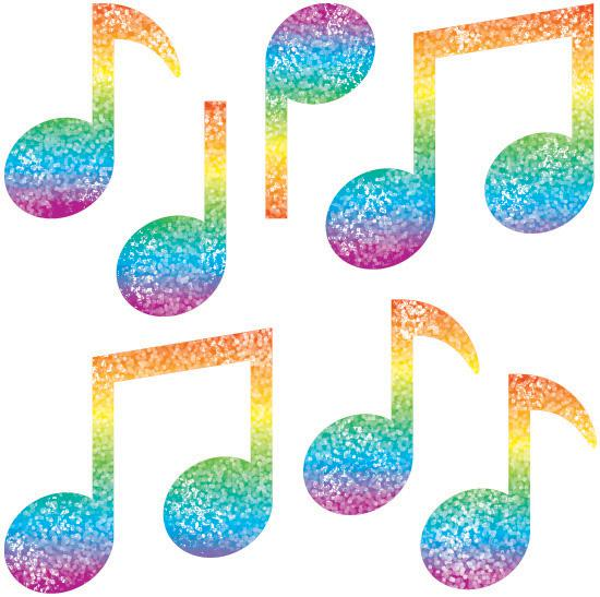 Colorful Music Note Border Clipart Panda Free Clipart ...