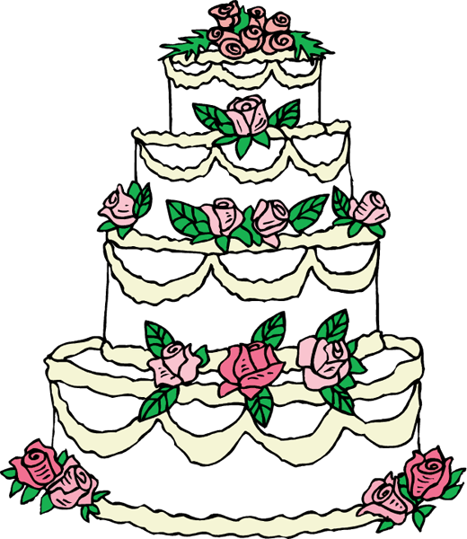 Vintage Cake Clipart - Clipart Kid