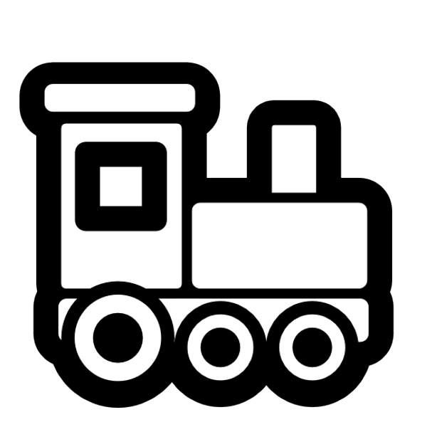 Clip Art Train Clipart Black And White train engine black and white clipart kid engineer panda free images