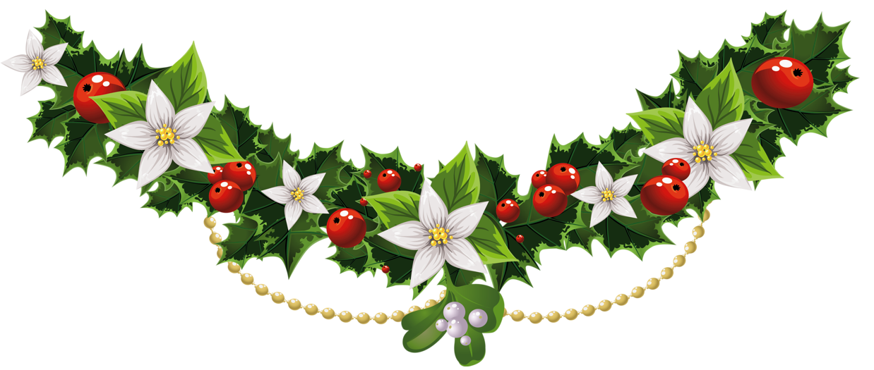 Free Download Christmas Garland Decorations Christmas Decoration