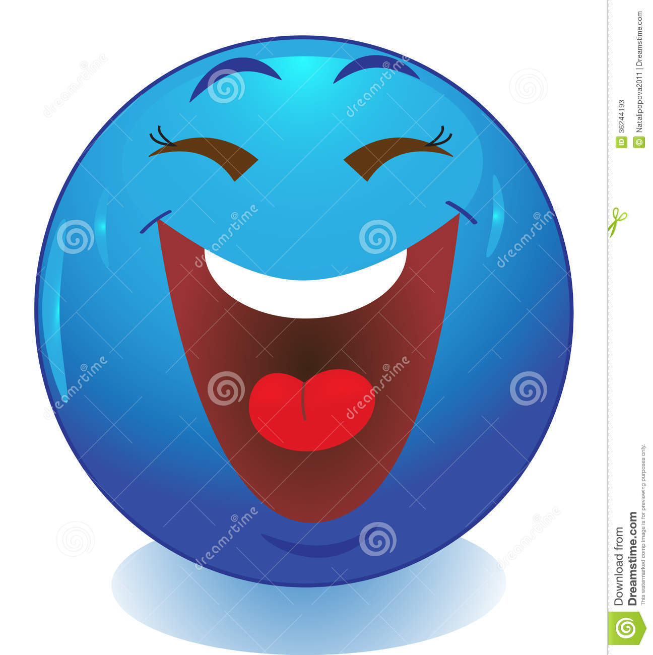 Laughing Smiley Face Clip Art Smiley Face Emoticon Stock Image