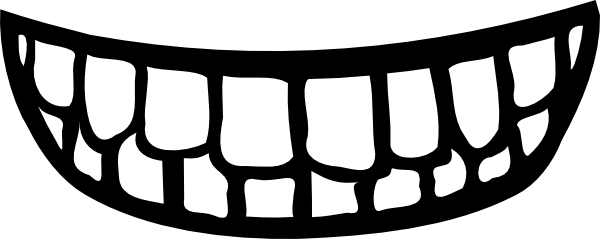 Mouth Clipart Black And White   Clipart Panda   Free Clipart Images