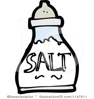 Salt Black And White Clipart - Clipart Suggest