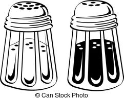 Salt Pepper Stock Illustration Images  951 Salt Pepper Illustrations