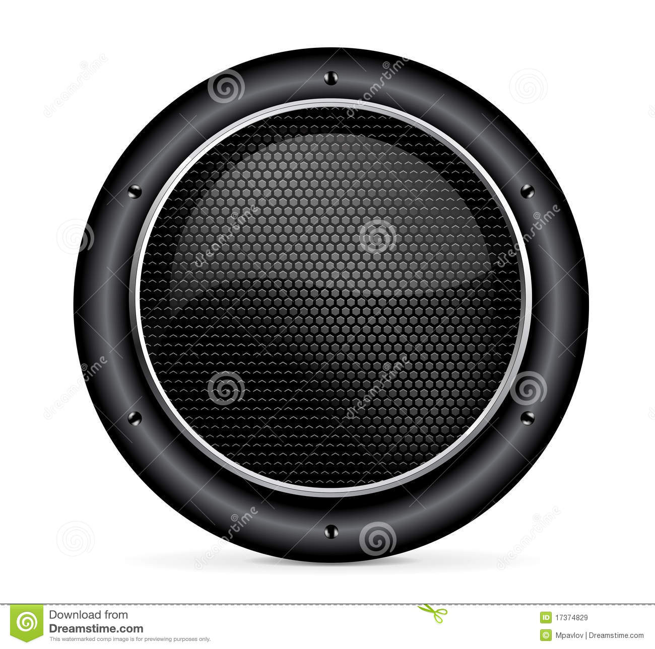 Speaker Icon Royalty Free Stock Images   Image  17374829