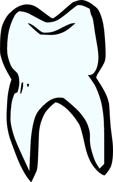 Tooth Black And White Clipart - Clipart Kid
