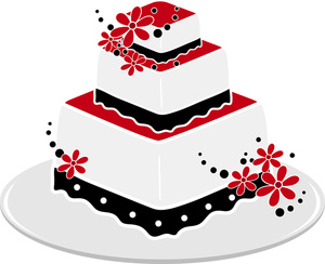 Wedding Cake Clipart Black And White   Clipart Panda   Free Clipart