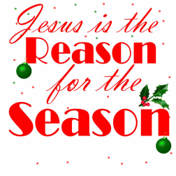 Reason for the season clipart clipart suggest for Jesus is the reason for the season coloring pages