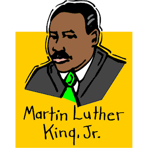 Martin Luther King Day 2013 Clip Art