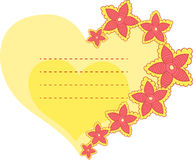 Flower Frame Shape Heart Stock Vectors Illustrations   Clipart