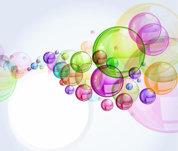 Colorful Bubbles Clipart - Clipart Suggest