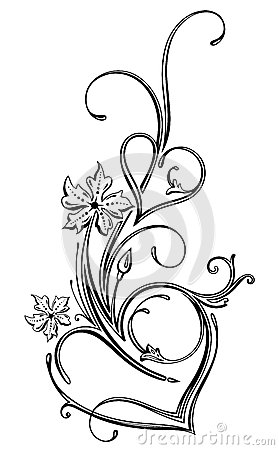 Hearts Filigree Royalty Free Stock Photography   Image  33937307