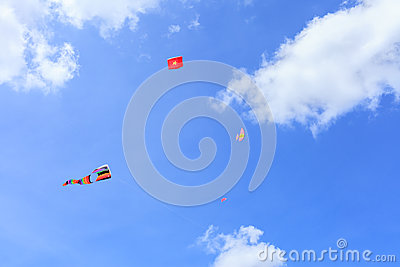 Pattani   March 9  Many Fantasy Kites In The International Kite