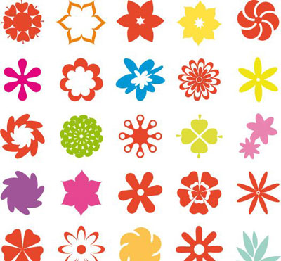 Report Browse   Shapes   Flower Shape Collection