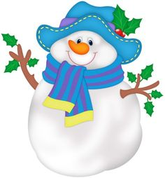 Snowpeople Big   Small On Pinterest   Snowman Christmas Snowman And