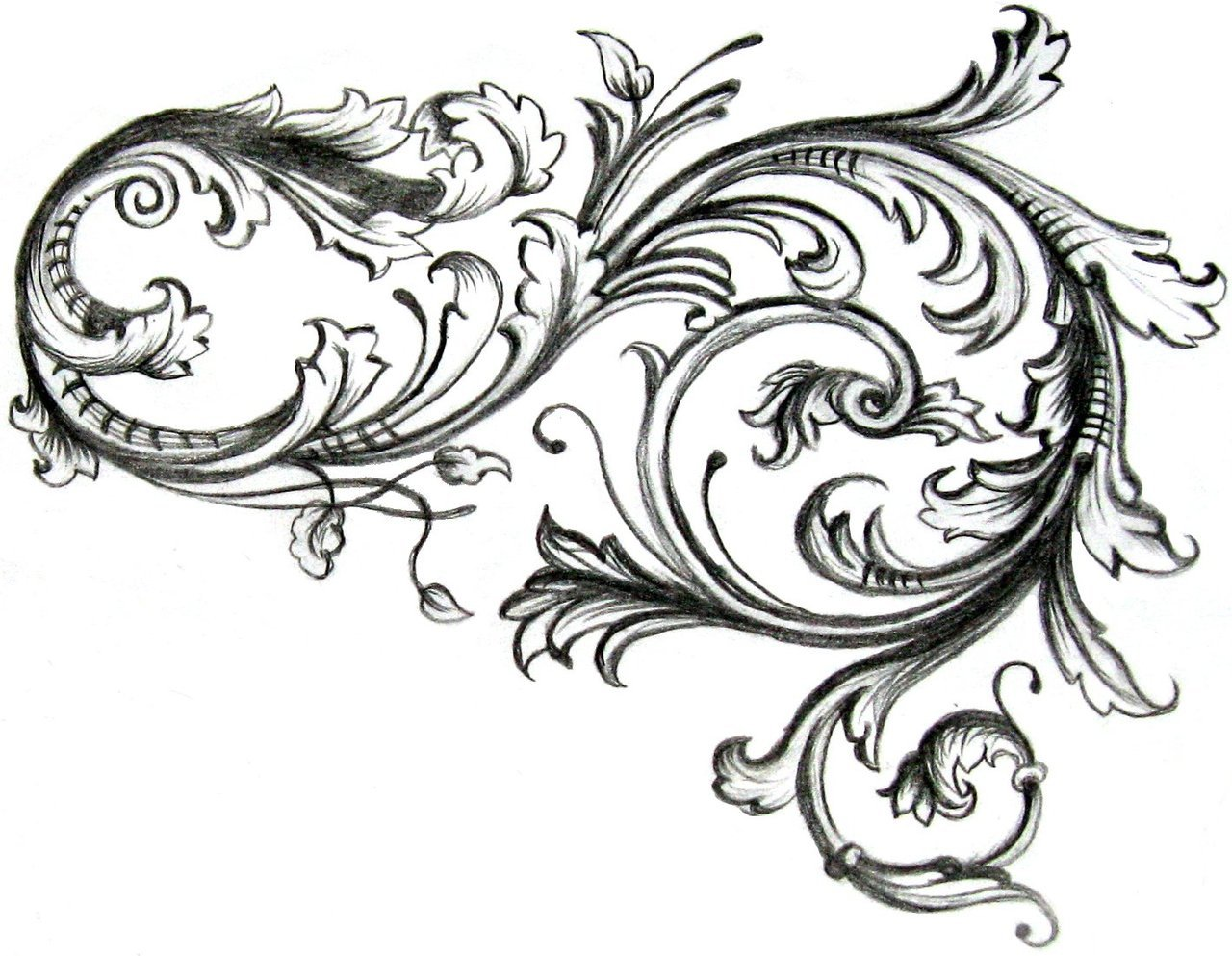 Tattoo Design Filigre Tattoo A Tattoo Filigree Tribal Tattoo