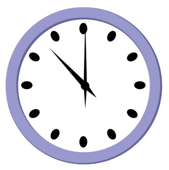Clip Art Cartoon Clock Clipart - Clipart Suggest