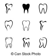 Broken Teeth Clip Art Vector Graphics  121 Broken Teeth Eps Clipart