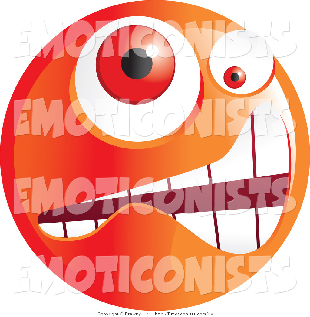 Gallery For   Clipart Illustration Of A Yellow Confused Emoticon Face