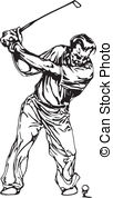 Golf Tournament Illustrations And Clipart