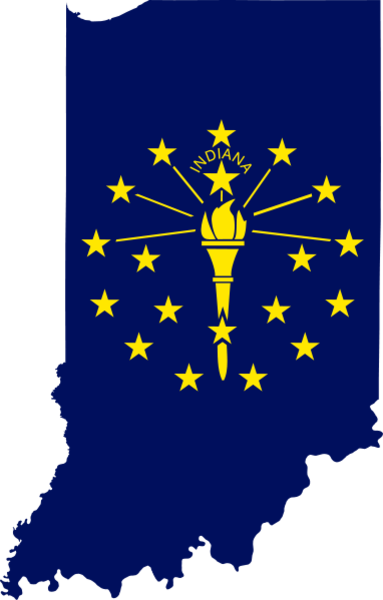 Indiana Flag Clipart
