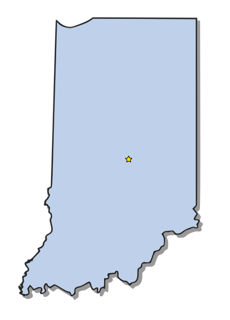 Indiana   Http   Www Wpclipart Com Geography Us States Indiana Png