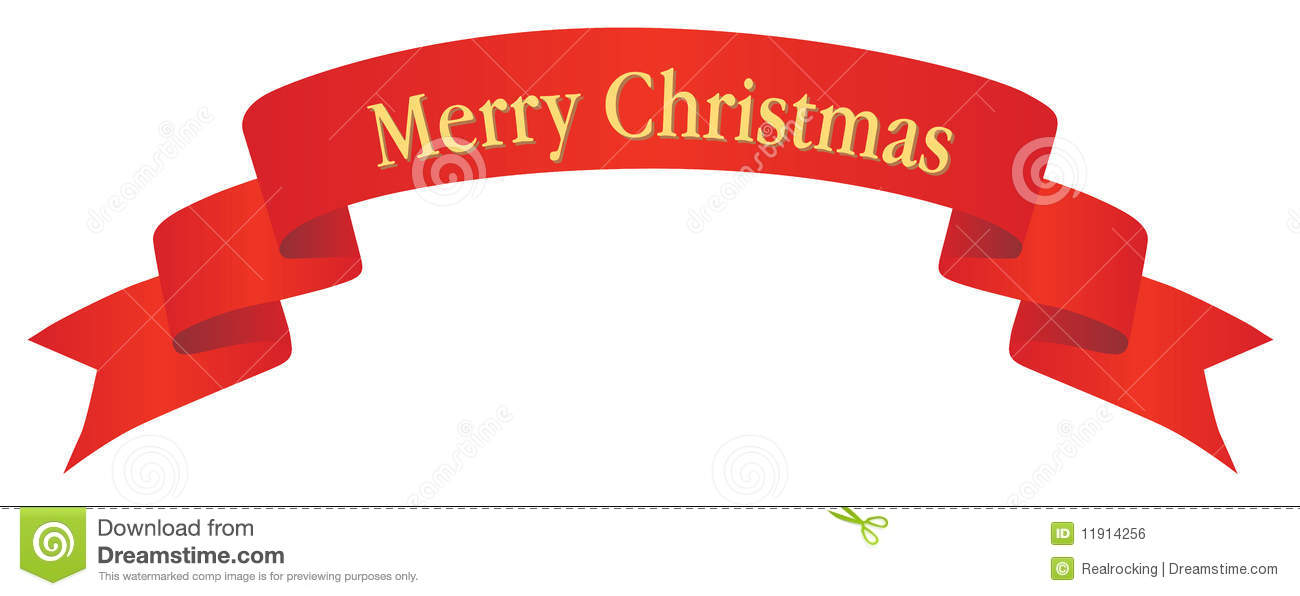 free clipart merry christmas banner - photo #13