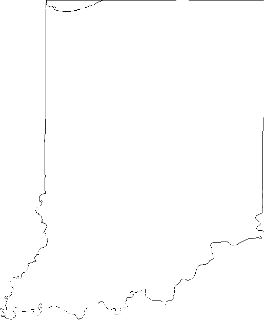 Us Outline Maps   7186indiana   Classroom Clipart
