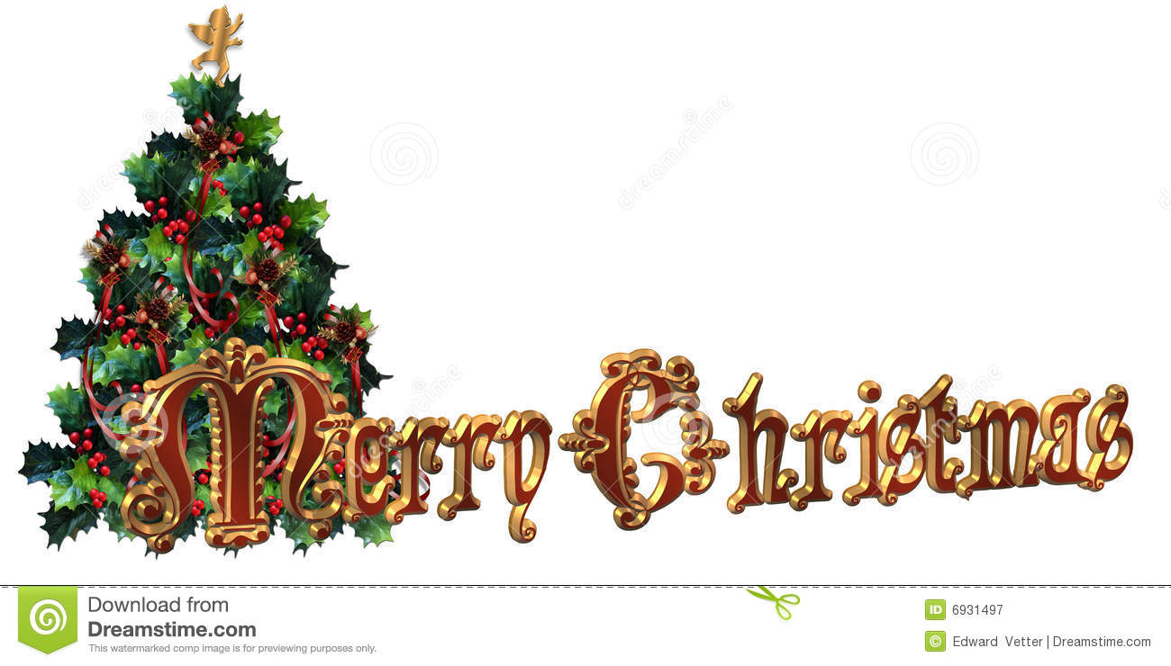 free clipart merry christmas text - photo #40