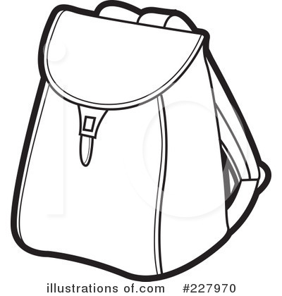 Backpack Clipart  227970   Illustration By Lal Perera