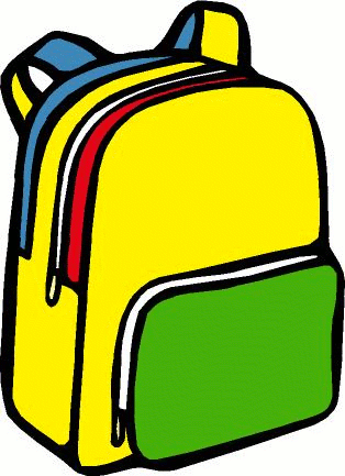 Backpack Clipart Black And White   Clipart Panda   Free Clipart Images