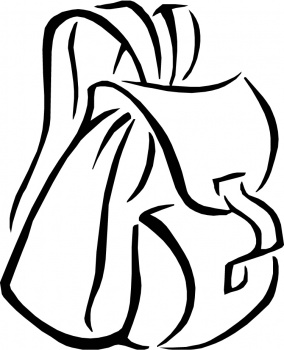 Backpack Coloring Page   Free Cliparts That You Can Download To You