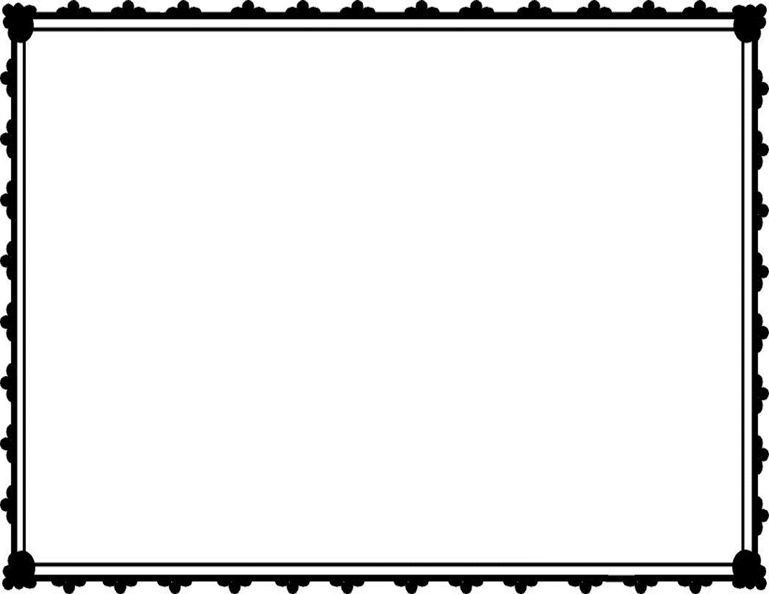 Vintage rectangle border clipart clipart kid