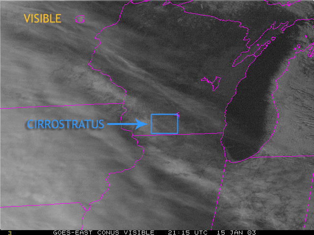 Cirrocumulus Clouds From Satellite Module 4   Cloud Identification