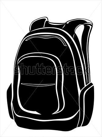 Download Source File Browse   Objects   Black Backpack On White