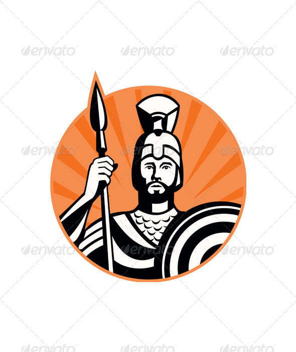 File Name   Logo Gladiator Spear Shield Prvw Jpg Resolution   590 X