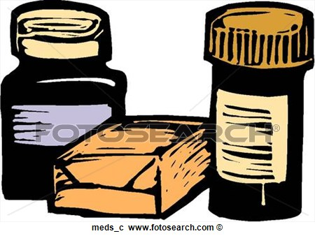 Meds Meds C Art Parts Clip Art Photograph Royalty Free
