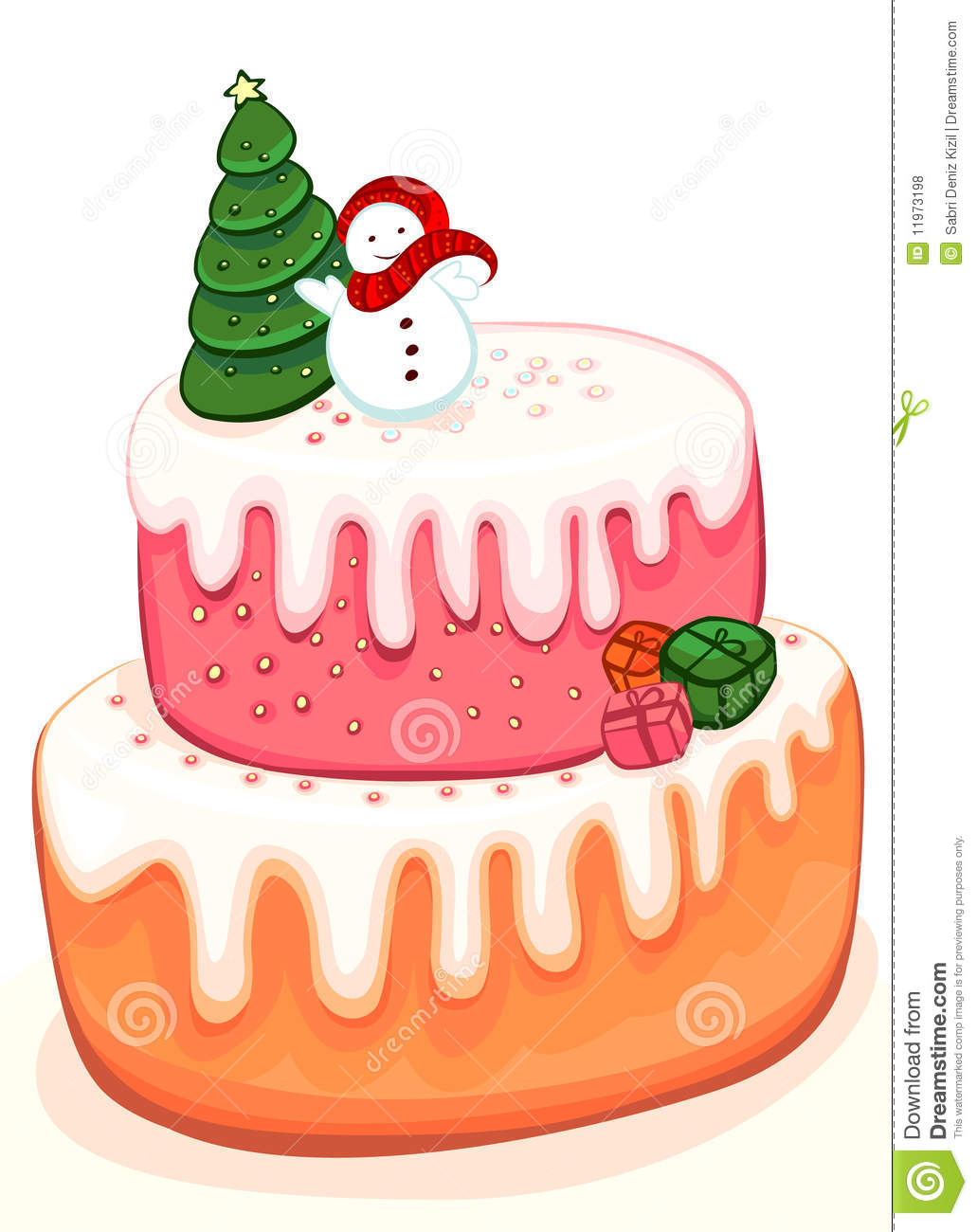 Christmas Cake Pictures Clip Art : Christmas Birthday Cake Clipart - Clipart Suggest