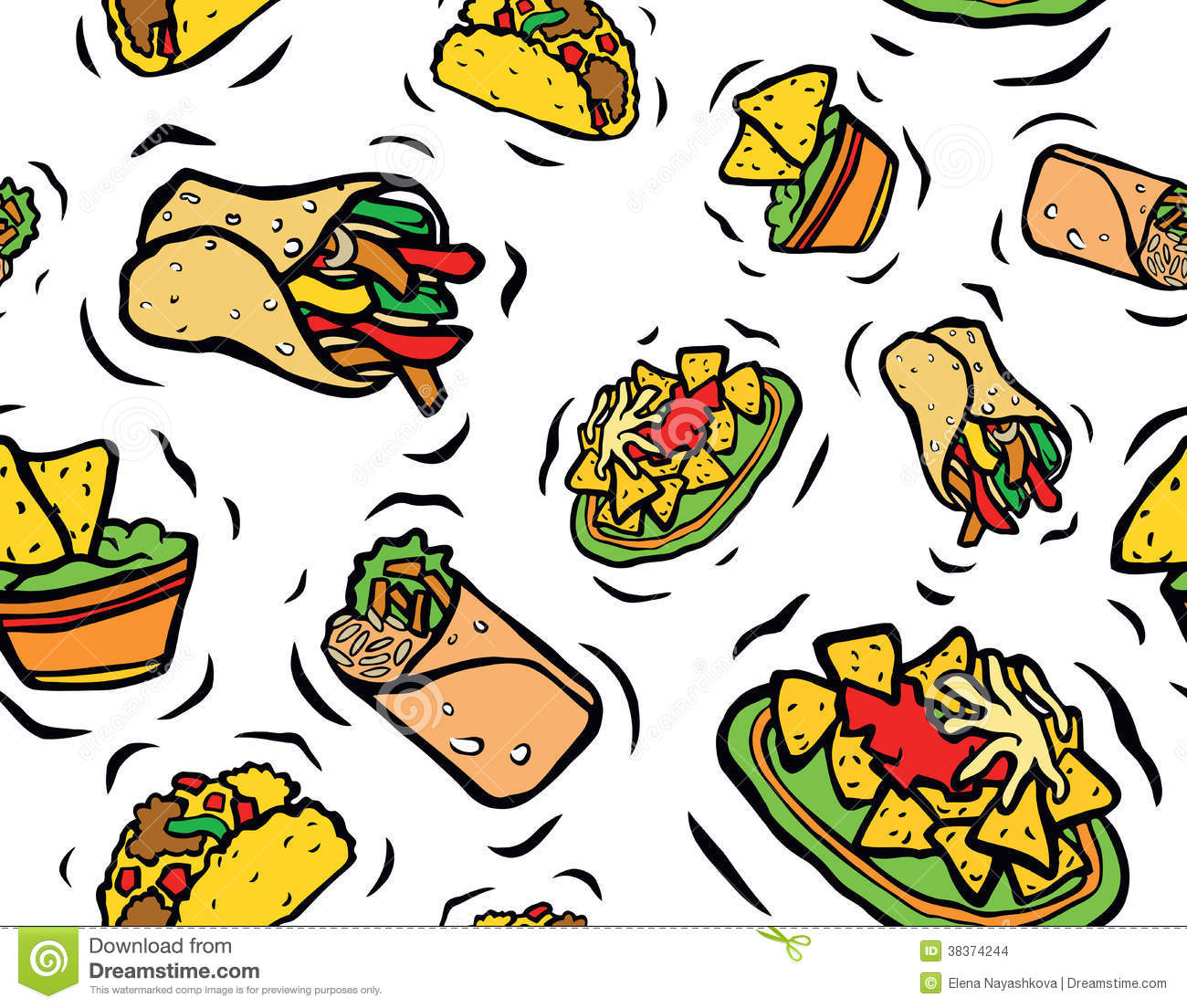 Clip Art Mexican Pattern Clipart - Clipart Kid