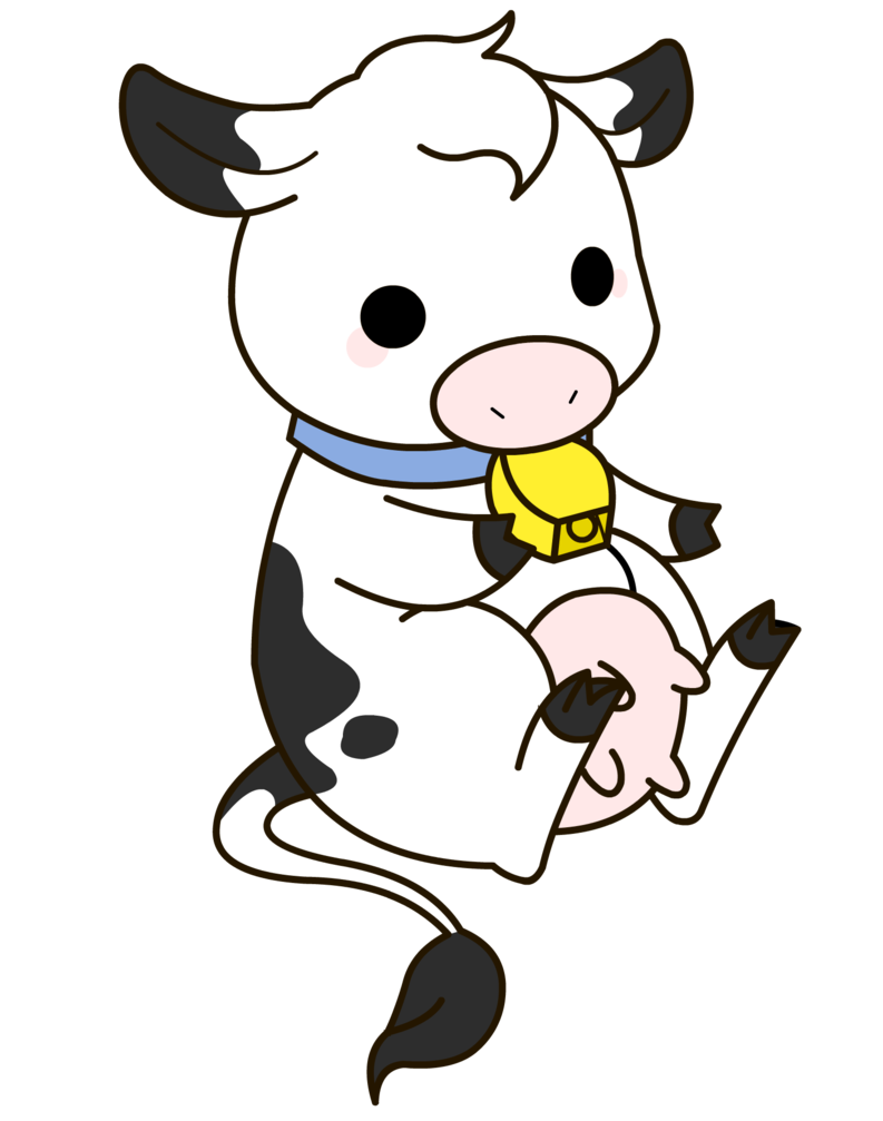 Baby Cow Clipart - Clipart Kid