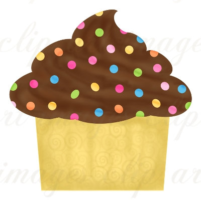 Birthday Cupcake Clip Art Royalty Free Commercial Use No Credit