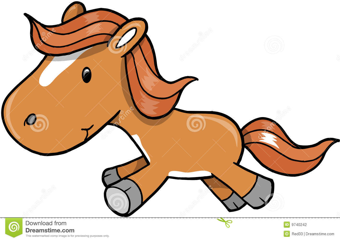 Pony clipart clipart suggest - Clipart cheval ...