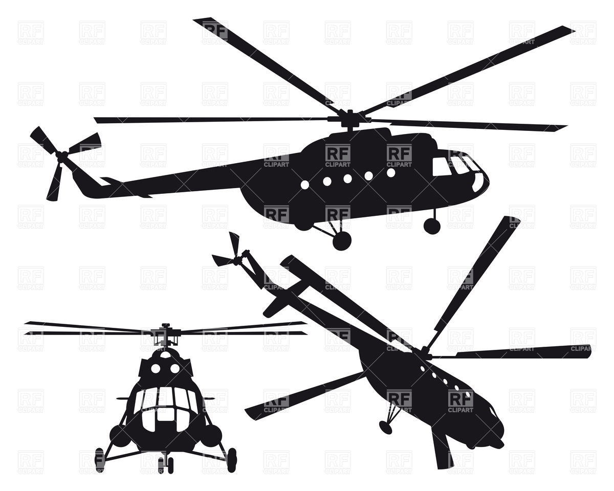 Clipart Helicopter - All About Clipart