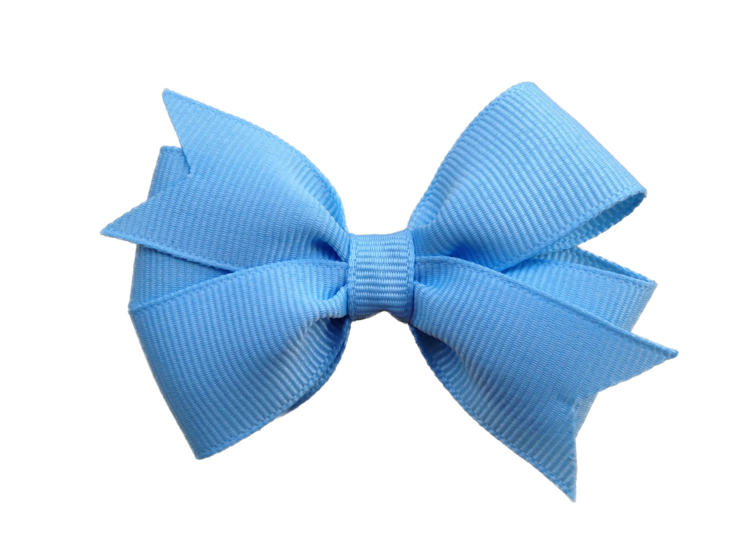 Baby Blue Hair Bow 3 Inch Light Blue Bow By Browneyedbowtique