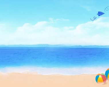 Beach Background Clipart - Clipart Suggest